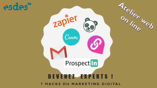 Atelier WEB  : Les 7 hacks du marketing digital